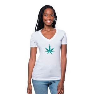 Women's Hemp and Organic Cotton V-Neck